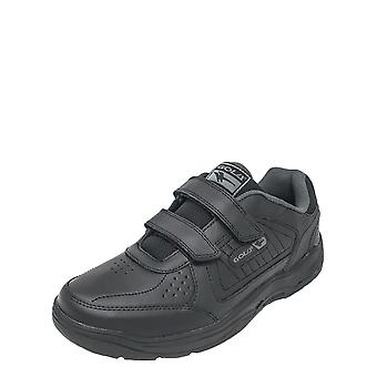 Gola Gola Wide Fit Leather Touch & Close Trainer