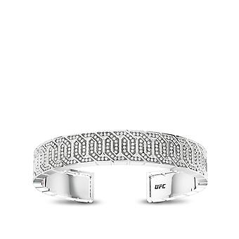 UFC Cuff Bracelet In Sterling Silver Design by BIXLER
