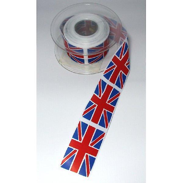 Union Jack Wear Union Jack Wide Ribbon 25mm