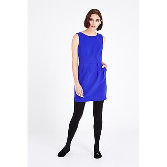 Louche Triy Shift Dress Blue