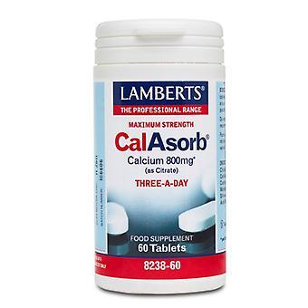 LAMBERTS CalAsorb kalsium 800mg tabletit 60 (8238-60)