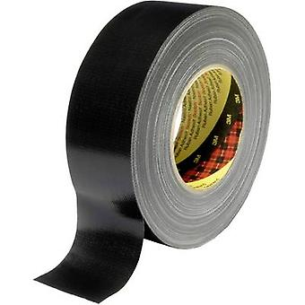 3M XT-0034-0092-3 Cloth tape 389 Black (L x W) 50 m x 50 mm 1 pc(s)
