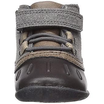 Carter's Every Step Boys Everystep Stage 1 Crawl, Jonah-CB Fashion Boot, Grey...