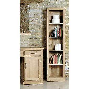 Mobel Oak Narrow Bookcase - Baumhaus