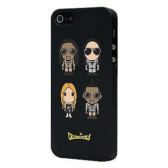Celebridols Black Hull B.e.p For Apple IPhone 5