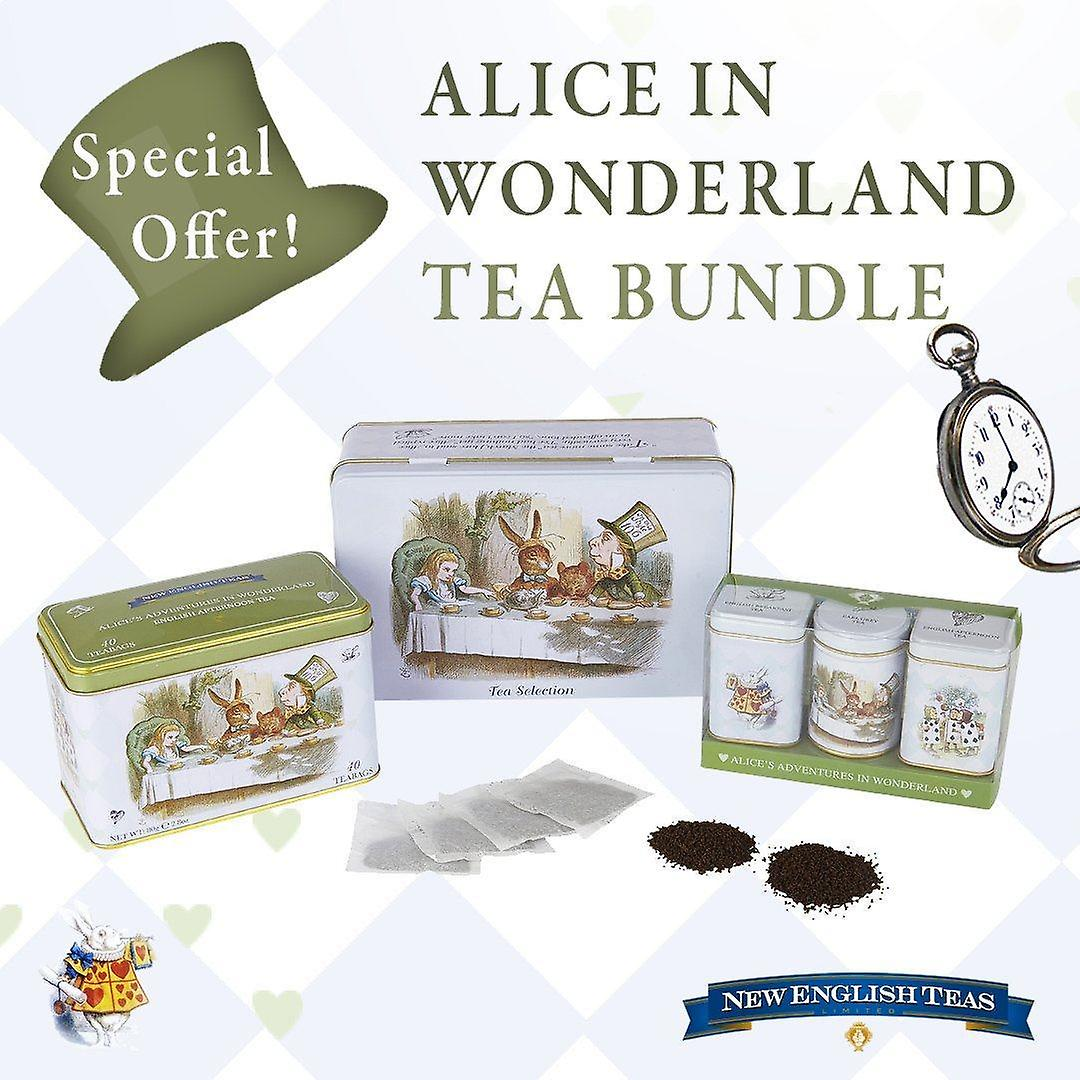 Alice in wonderland bumper english tea party gift pack