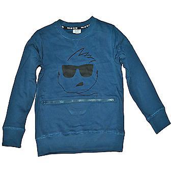 Sweatshirt de marche avec la poche de fermeture éclair