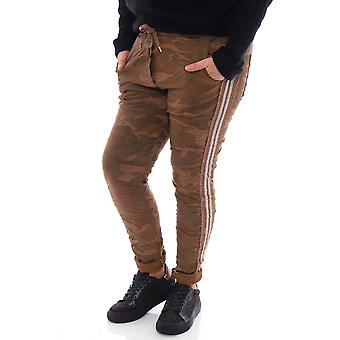 Made In Italy Rainow Camo Jersey Pants