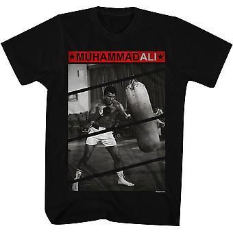 American Classics Muhammad Ali Punch Bag T-paita-musta