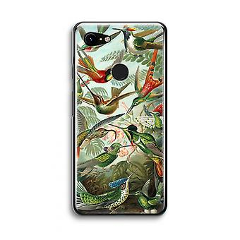Google Pixel 3 Transparent Case (Soft) - Haeckel Trochilidae