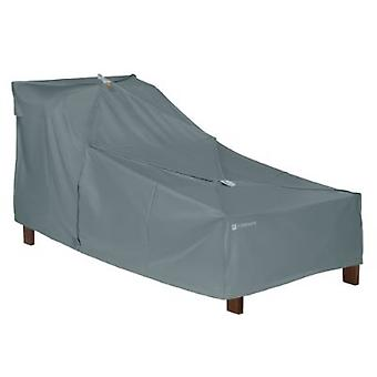 Storigami Easy Fold Patio Day Chaise Cover, Monument Grey