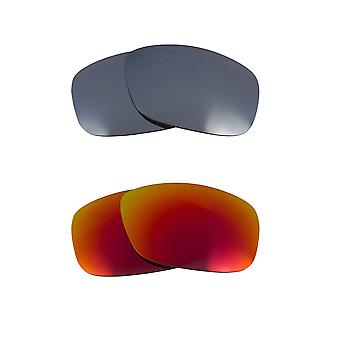 Polarized Replacement Lenses for Oakley Moonlighter Sunglasses Anti-Scratch Anti-Glare UV400 by SeekOptics