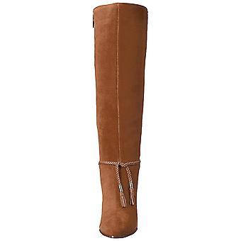 Aerosoles Womens Square Foot Leather Pointed Toe Knee High Fashion Boots