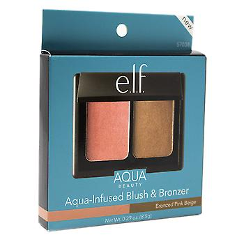 e.l.f. Aqua Beauty, Aqua-infused Blush and Bronzer