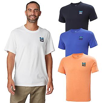 Helly Hansen Mens 2020 Nord Grafika HH Krótki rękaw Lekki T-Shirt