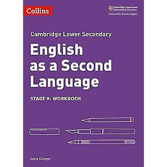 Inglês secundário inferior como uma segunda língua workbook estágio 9 por Anna Cowper