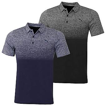 Puma Golf Herren Evoknit Ombre Leichtbau langlebig Golf Polo Shirt