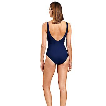 Féraud 3205033-10063 Women's Navy Blue One Piece Swimsuit