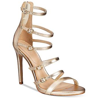 Aldo damskie skórzane Nandra Open Toe specjalne okazje paski sandały