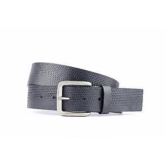 Cintura di lusso con scatole in colore blu