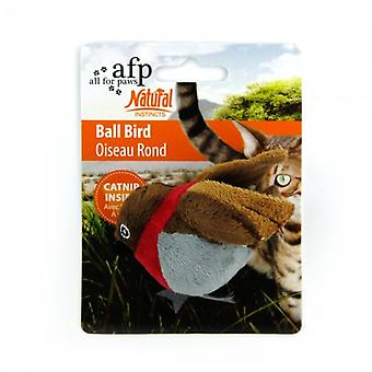 AFP Natural Intincts Catnip Pez-Pelota (Cats , Toys , Plush & Feather Toys)