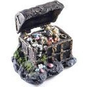 Classic For Pets Treasure in Chest      AO (Fish , Decoration , Ornaments)