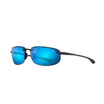 Maui Jim Ho'okipa B407 11 Smoke Grey/Blue Hawaii Sunglasses