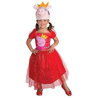 Peppa Pig Kleinkinder Kostüm