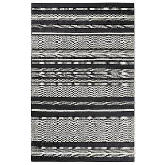 Hudson Kelim Rugs 6113 01 In Grey By Esprit
