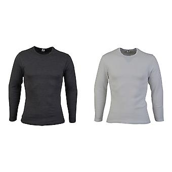 Absolute kleding Mens thermische lange mouwen T-Shirt