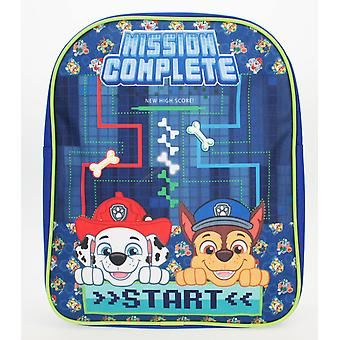 Paw Patrol Mission Complete Basic Backpack Blue