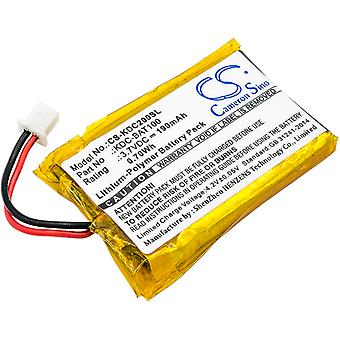 Barcode Scanner Batterie für KOAMTAC 02-980-8680 KDC-BAT100 KDC-100 KDC-200 NEU