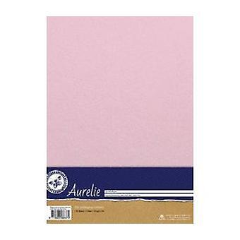 Aurelie tyylikäs hohtava paperi vauva vaaleanpunainen
