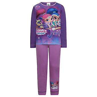 Shimmer And Shine Official Gift Toddler Girls Kids Pyjamas