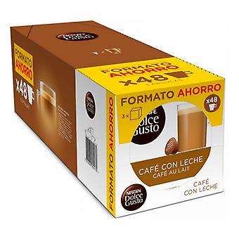 Coffee Capsules Cafe Au Lait Nescafe Dolce Gusto Dolce Gusto (48 uds)
