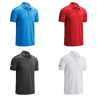 Callaway Mens Swing Tech Solid Colour Polo Shirt