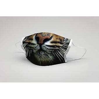 Száj maszk Tigris tigris pofa mosható maszk védőmaszk tigris maszk ökotex