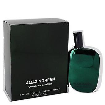 Amazingreen Eau De Parfum Spray (Unisex) By Comme des Garcons 1.7 oz Eau De Parfum Spray