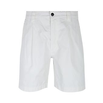 Albam White Ripstop Shorts