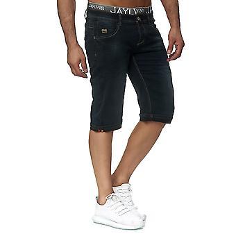Men's denim shorts summer Bermuda Jaylvis elastic waistband casual pants