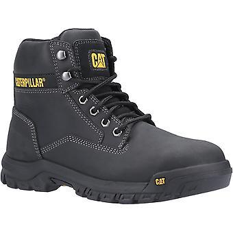 Lagarta masculina s3 lace up safety boot preto 30431