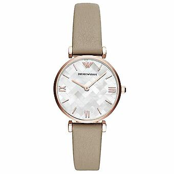 Emporio Armani AR11111 Mother Of Pearl Mosaic Dial Ladies Watch