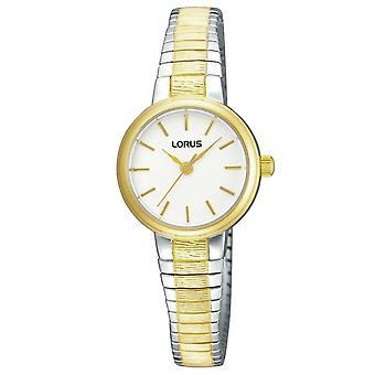 Lorus RG238NX-9 Two Tone Expandable Bracelet Wristwatch