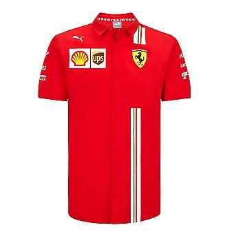 2020 Ferrari Team Paita (Punainen)