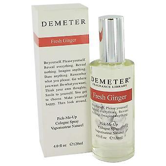 Demeter Fresh Ginger Cologne Spray By Demeter 4 oz Cologne Spray