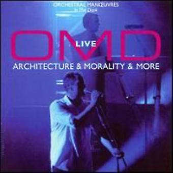 Omd - Live-Architecture & Morality & More [CD] USA import