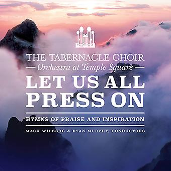 Let Us All Press On [CD] USA import