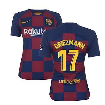 2019-2020 Barcelona Home Nike Ladies Shirt (Griezmann 17)
