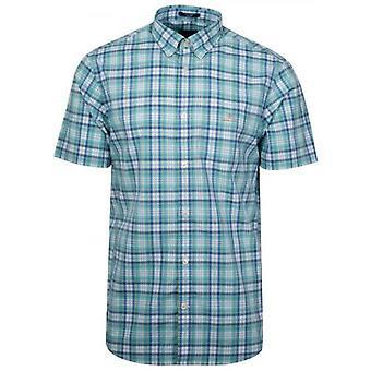 GANT Pool Green Controllare Camicia a maniche corte