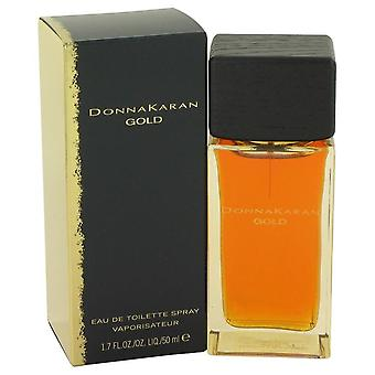 Donna Karan Gold Eau De Toilette Spray By Donna Karan 1.7 oz Eau De Toilette Spray